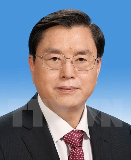 Chairman of Chinese National People's Congress visits Vietnam - ảnh 1