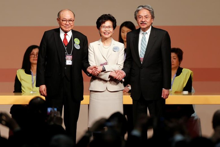 China appoints Carrie Lam HKSAR chief executive - ảnh 1