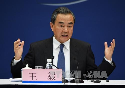 China underlines diplomatic solution to Korean peninsula's stand-off - ảnh 1