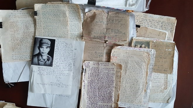 War letters illustrate Vietnamese people's aspiration for peace - ảnh 1