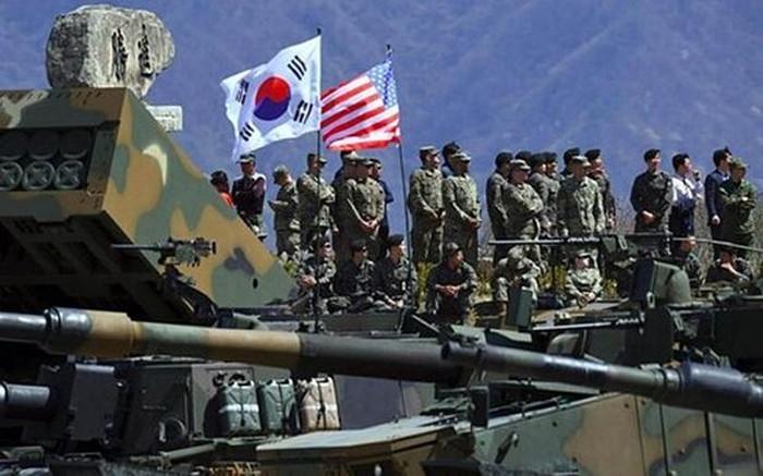 South Korea, US resume military drills - ảnh 1