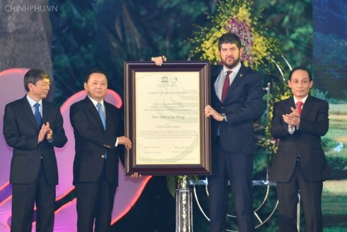 Non Nuoc Cao Bang becomes Vietnam's 2nd UNESCO global geopark - ảnh 1