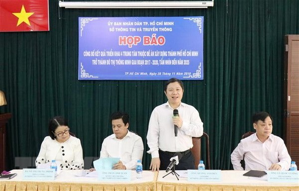 Ho Chi Minh City to operate 4 smart city centers  - ảnh 1