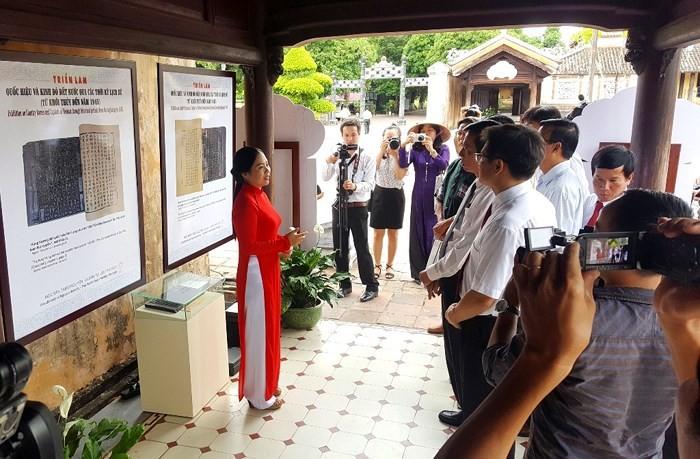 Hoi An exhibit recalls Vietnam's official names, capitals through history - ảnh 1