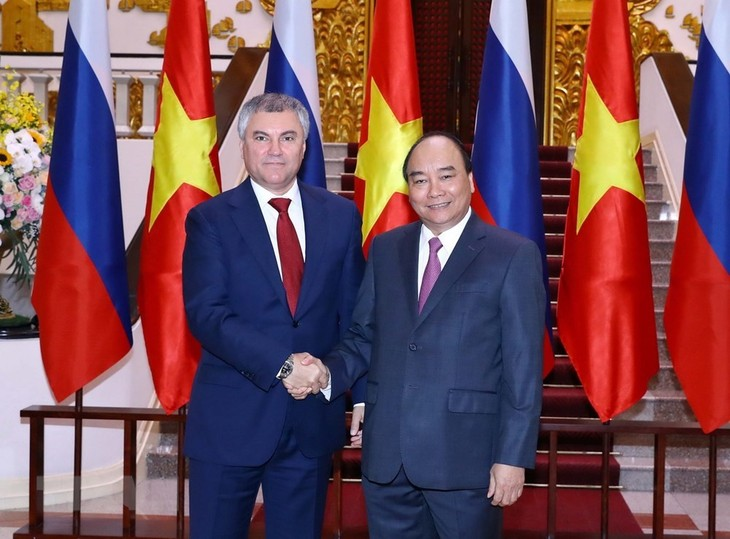 Russia's State Duma Chairman visits Vietnam for stronger bilateral ties - ảnh 2