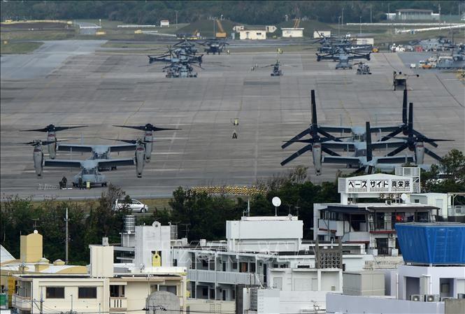 Japan says no to delaying US base move - ảnh 1