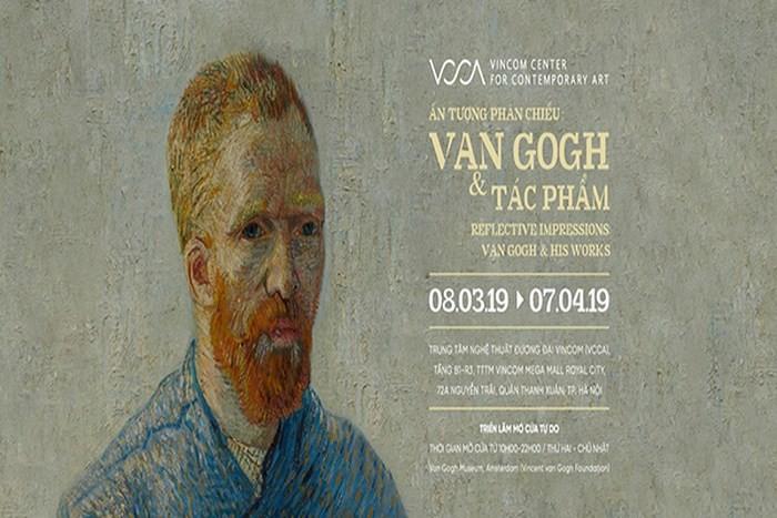 Digital versions of Van Gogh's paintings on display - ảnh 1