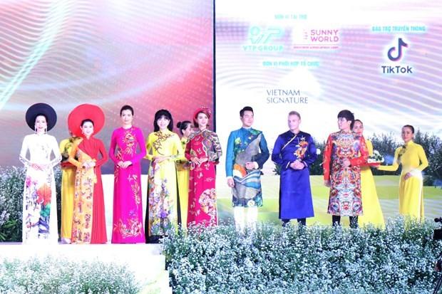 """6th """"Ao dai"""" festival kicks off in Ho Chi Minh City - ảnh 3"""