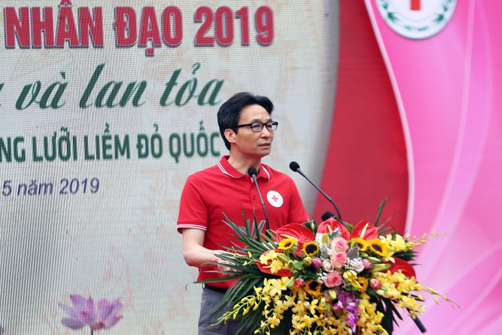 Red Cross Society launches 2019 Humanitarian Month - ảnh 1