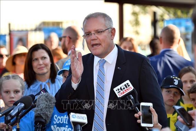 "2019 Australia election: Morrison celebrates ""miracle"" win - ảnh 1"