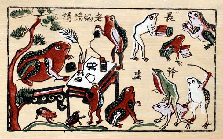 Dong Ho folk painting to seek UNESCO recognition - ảnh 4