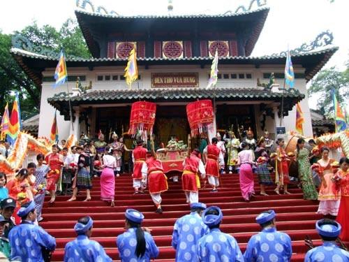 Alles bereit für die Gedenkfeier der Hung-Könige  - ảnh 1