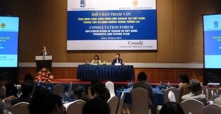 Forum zur Umsetzung der Frauenrechtskonventionen - ảnh 1