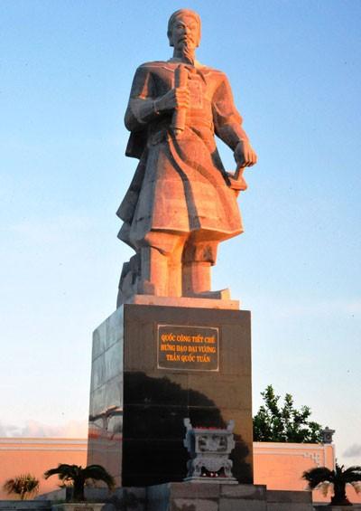 Einweihung des Denkmals des Generals Tran Quoc Tuan auf den Spratly-Inseln - ảnh 1