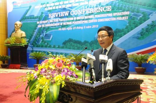 Bereitschaft: Vietnam engagiert sich für UN-Friedensmission - ảnh 1