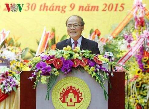 Parlamentspräsident: Phu Tho soll sich in ein führendes Zentrum des Nordens entwickeln - ảnh 1