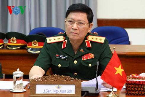 Generalleutnant Ngo Xuan Lich und Vizeverteidigungsminister Do Ba Ty werden zum General befördert - ảnh 1