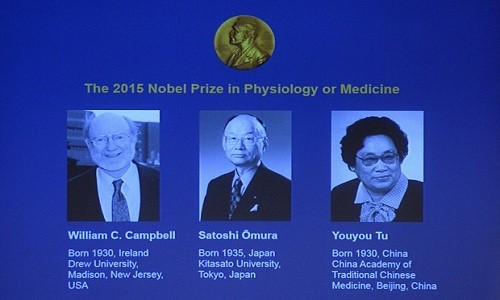 Medizin-Nobelpreis 2015 geht an Wissenschaftler aus Irland, Japan und China - ảnh 1