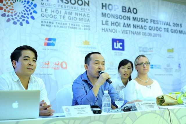 Monsun-Musikfestival 2015 in Vietnam - ảnh 1