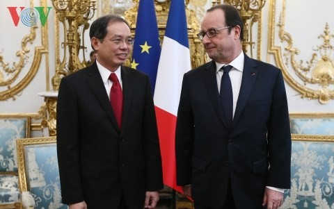 Botschafter Nguyen Ngoc Son überreicht Beglaubigungsschreiben an Kofürst von Andorra - ảnh 1