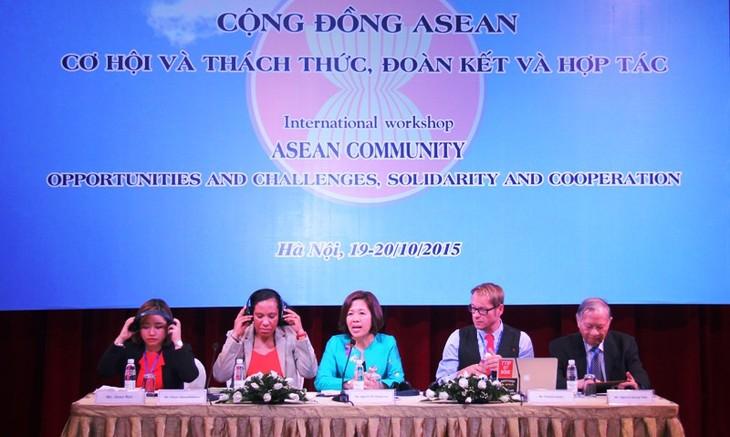 ASEAN-Gemeinschaft: Chancen, Herausforderung, Solidarität und Kooperation - ảnh 1