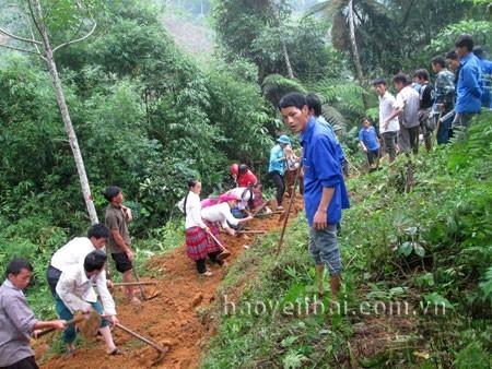 Mong Son kann bald die Kriterien des Programms zur Neugestaltung der ländlichen Räume erfüllen - ảnh 1