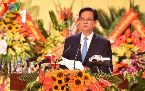 Premierminister Nguyen Tan Dung bei Sitzung der Parteileitung der Küstenstadt Hai Phong - ảnh 1