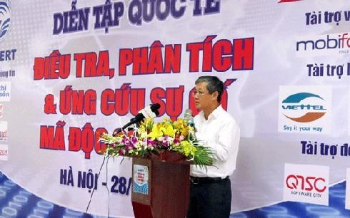 Vietnam beteiligt an internationaler Übung über Informationssicherheit - ảnh 1