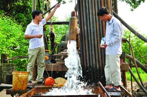 Deutsche Regierung unterstützt Projekte zum Grundwasserschutz in Vietnam - ảnh 1