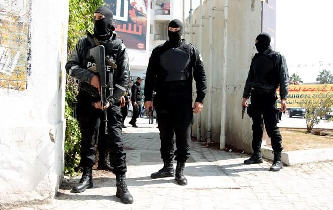 Demonstration zur Unterstützung der Terrorbekämpfung in Tunesien - ảnh 1