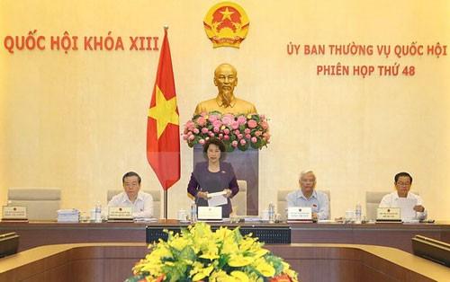 Eröffnung der 48. Sitzung des Ständigen Parlamentsausschusses - ảnh 1