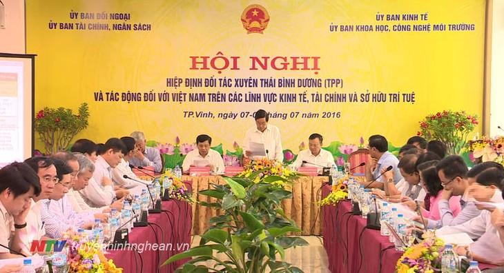 Auswirkung von TPP auf Wirtschaft, Finanzen und Geistiges Eigentum Vietnams - ảnh 1