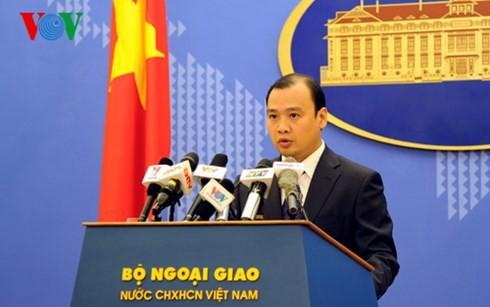 Vietnam unterstützt die Lösung der Streitigkeiten im Ostmeer durch friedliche Maßnahmen - ảnh 1