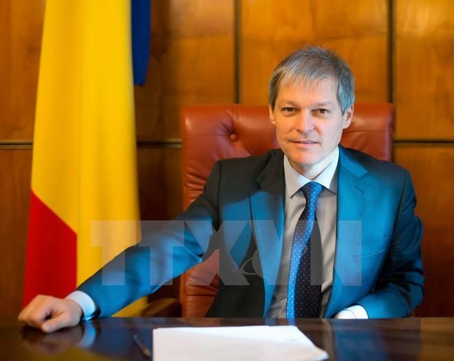 Rumäniens Premierminister beendet Vietnambesuch - ảnh 1