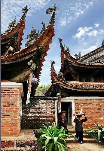 "Fotoausstellung ""Hanoi in mir"" in Thang Long-Zitadelle - ảnh 4"
