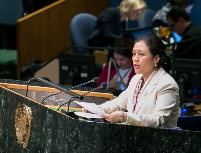 Vietnam appelliert an internationale Gemeinschaft, eine friedliche und sichere Welt aufzubauen - ảnh 1