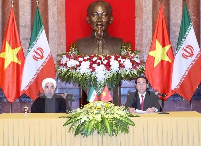 Gemeinsame Erklärung zwischen Vietnam und Iran - ảnh 1