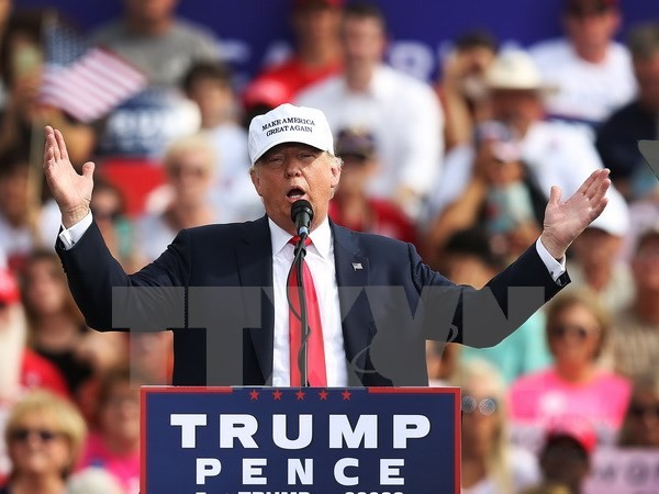 US-Wahlen 2016: Donald Trump weist Sexismus-Vorwürfe zurück - ảnh 1
