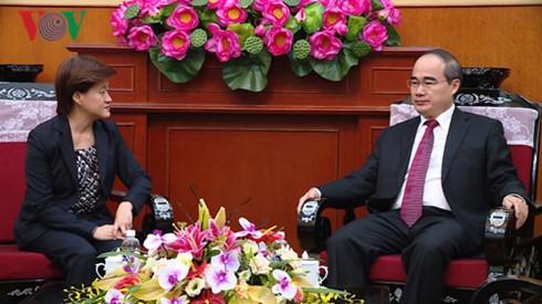 Verstärkung der Beziehungen zwischen Vietnam und Singapur - ảnh 1