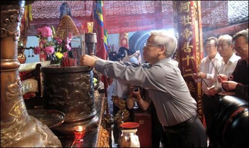 KPV-Generalsekretär Nguyen Phu Trong besucht Provinz Nam Dinh - ảnh 1