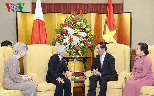 Kaiser und Kaiserin Japans werden die Stadt Hue besuchen - ảnh 1