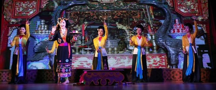 Nhà hát chèo Hà Nội lưu diễn tại Châu Âu - ảnh 1