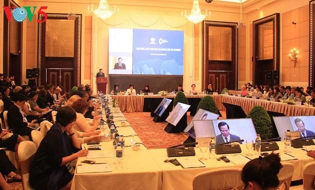 APEC: Gleichstellung zwischen Frauen und Männern gilt als Zentrum der Entwicklung der Wirtschaft - ảnh 1