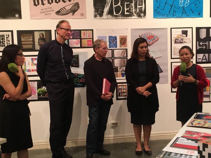 Goethe Institut Hanoi: Neuen Trends und Tendenz der Typografie in der Welt - ảnh 1