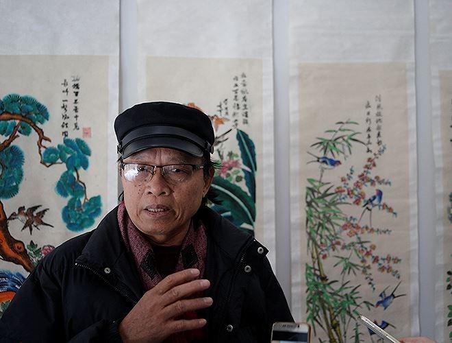 Ausstellung der Hang Trong-Bilder: alte und neue Geschichte - ảnh 2