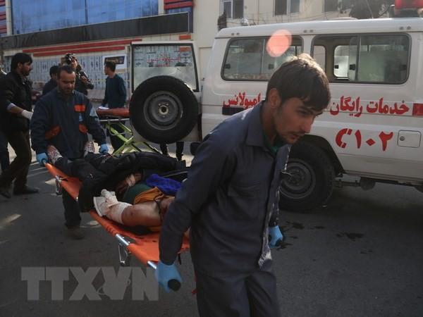 Zahlreiche Tote und Verlezte beim Selbstmordanschlag in Afghanistan - ảnh 1