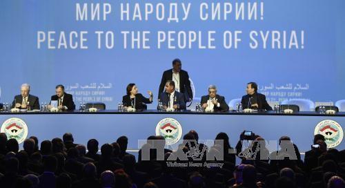 Weltspitzenpolitiker begrüßen die Ergebnisse der Syrien-Friedenskonferenz - ảnh 1