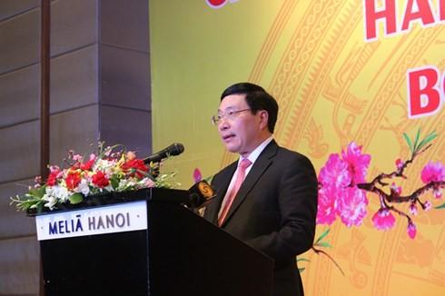 Vietnam leistet Beiträge zur Lösung von regionalen und globalen Herausforderungen - ảnh 1