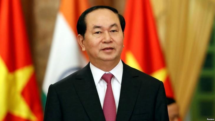 Staatspräsident: Förderung des Patriotismus und der schnellen, nachhaltigen Entwicklung des Landes - ảnh 1