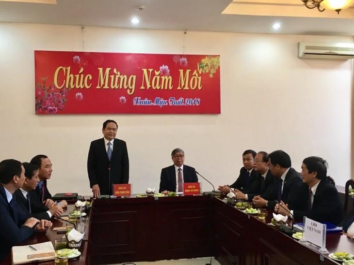 Förderung der Rolle der Mitgliedsorganisationen im System der Vaterländischen Front Vietnams - ảnh 1